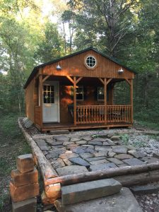 Tiny House Living -Our Cabin In The Woods!