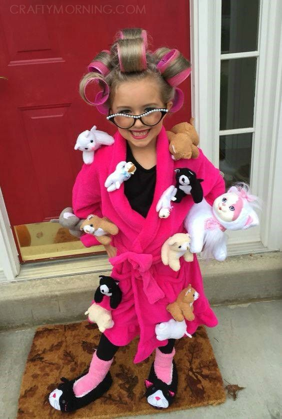 Crazy Cat Lady Toddler Costume