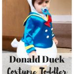 Donald Duck Costume Toddler For Halloween