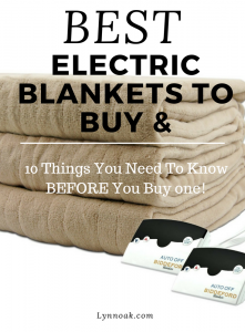 The Best Electric Blanket To Buy & 10 Things You Must Know Before Buying One