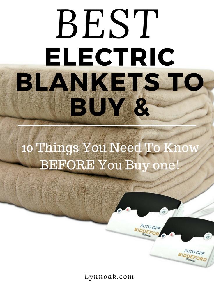 Best Electric Blanket buy