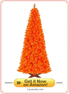 Orange Halloween Tree