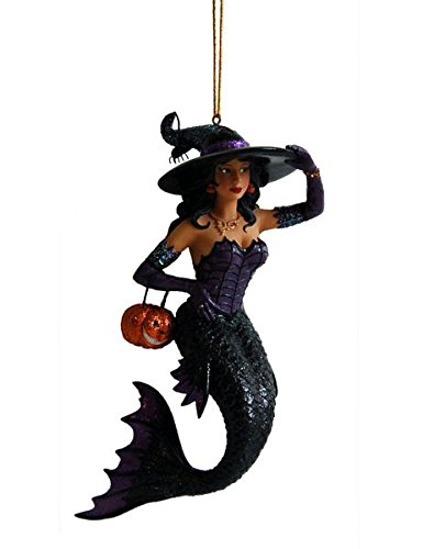Witch Mermaid Ornament