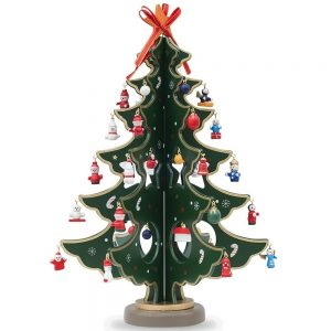 tabletop christmas tree wooden