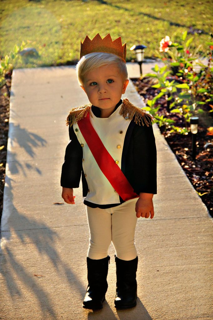 Toddler Prince Costume