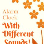 Alarm Clock With Different Sounds