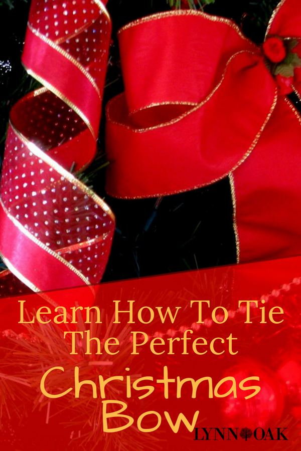 Learn How To Tie The Perfect Christmas Bow