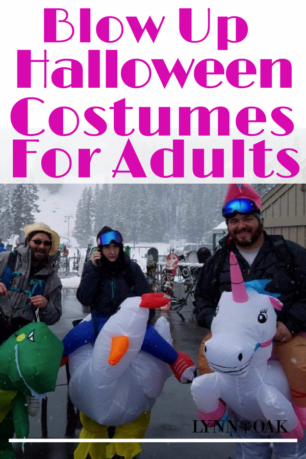 Blow Up Halloween Costumes For Adults