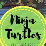 Ninja Turtle pillow cases