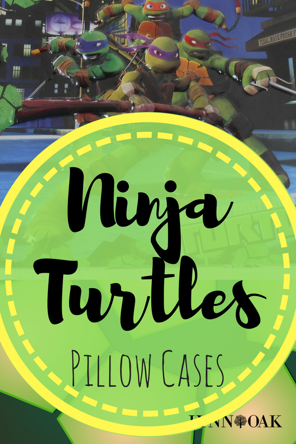 Ninja Turtle Pillow Cases
