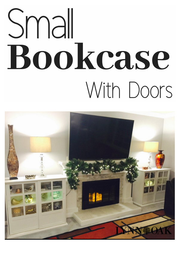 Small Bookcase With Doors