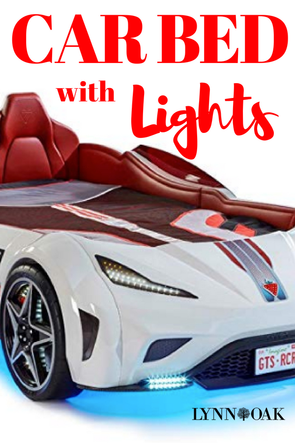 Car Bed With Lights