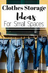 Clothes Storage Ideas For Small Spaces