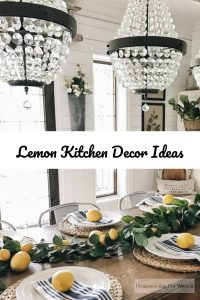 Lemon Kitchen Decor Ideas