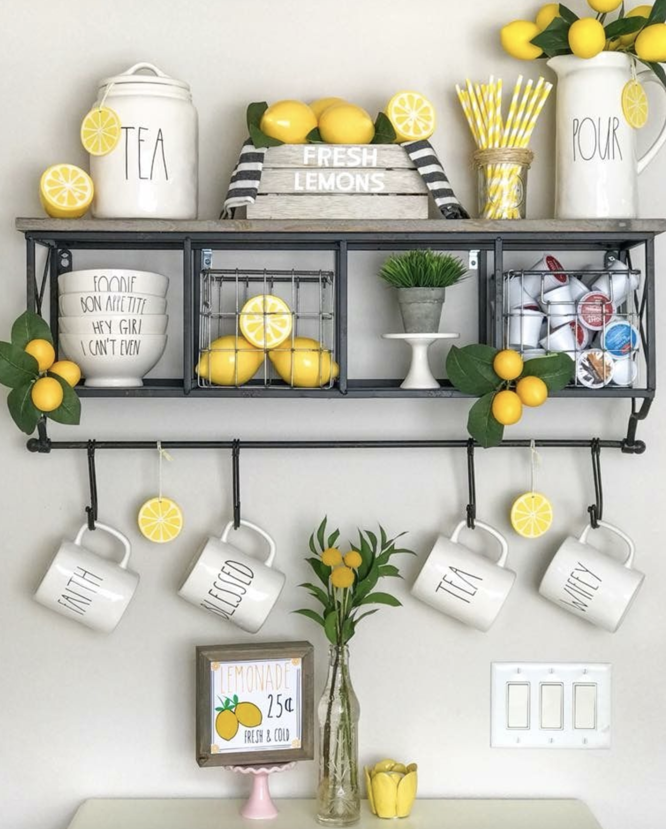 Amazing Lemon Kitchen Decor Ideas • LynnOak